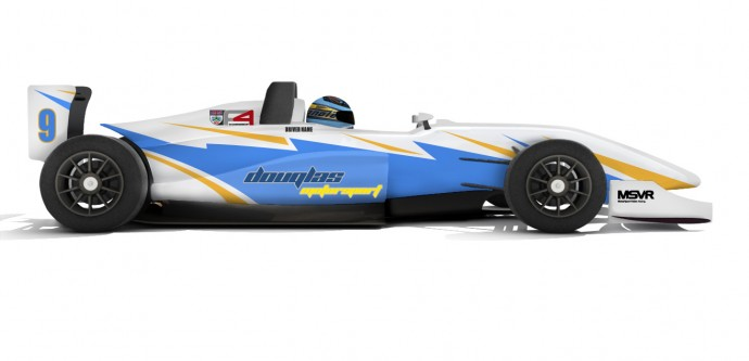 F4 Livery - Douglas Motorsport